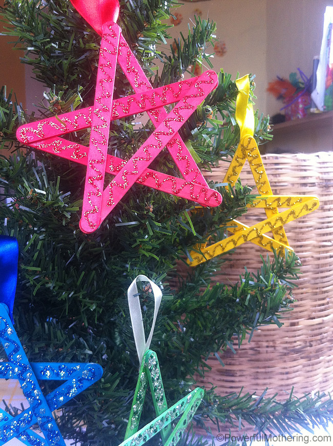 Christmas Craft Ideas For Kids  Easy Christmas Crafts for Kids Craft Stick Stars