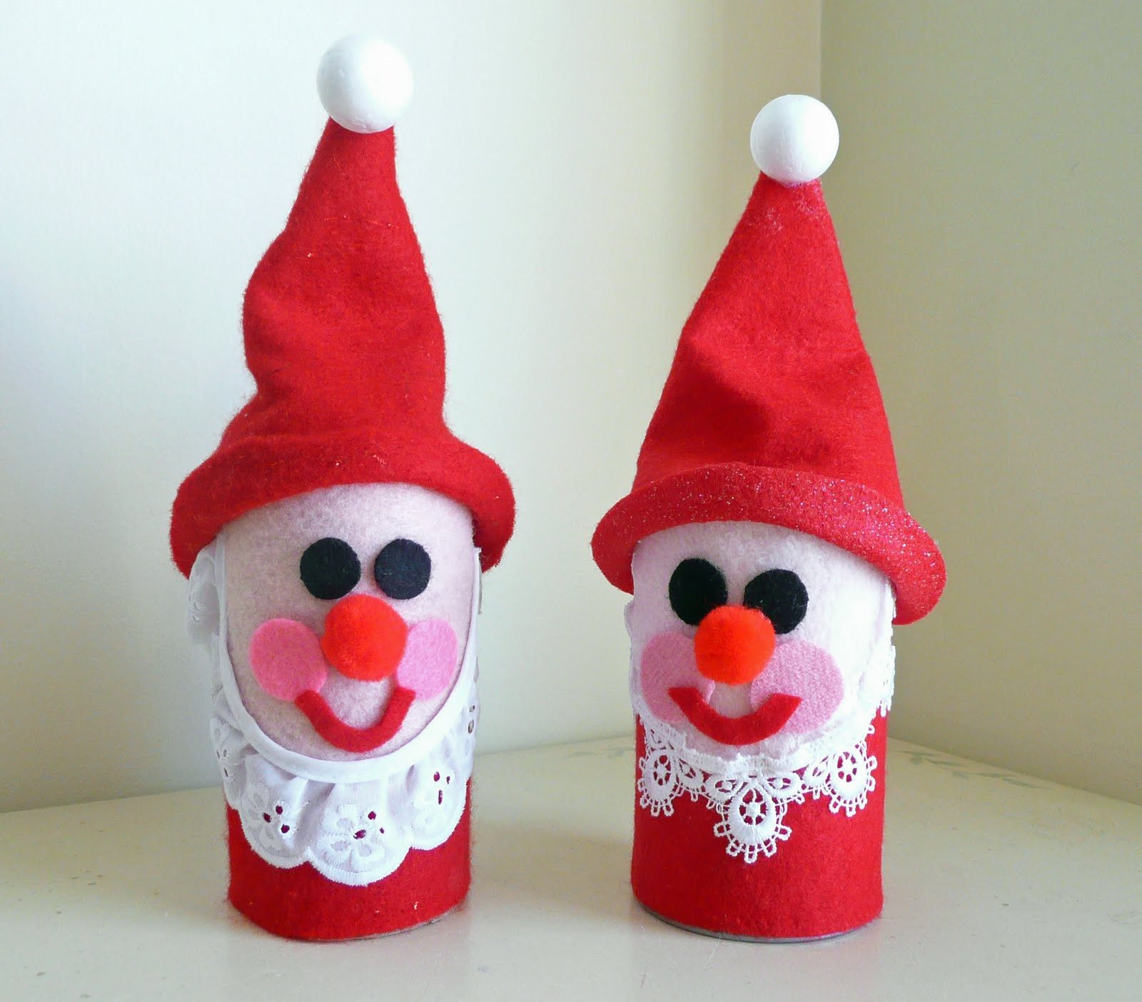 Christmas Craft Ideas For Kids  Preschool Crafts for Kids Toilet Roll Santa Christmas Craft