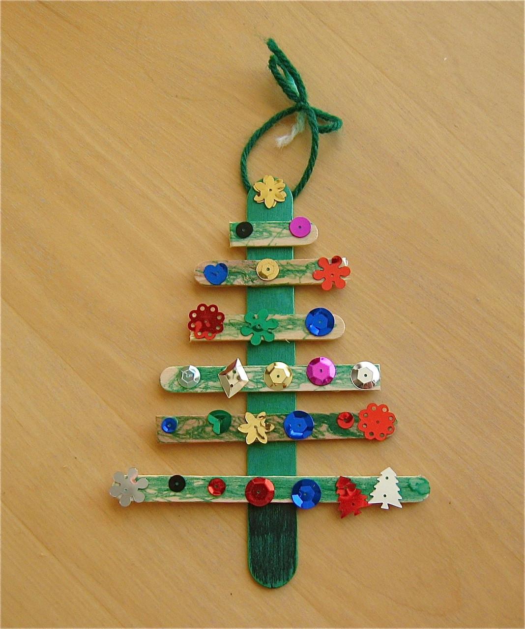 Christmas Craft Ideas For Kids  Christmas Tree Craft