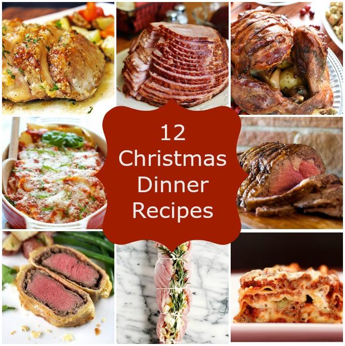 Christmas Dinner Party Menu Ideas  12 Christmas Dinner Recipes Stuck Sweet