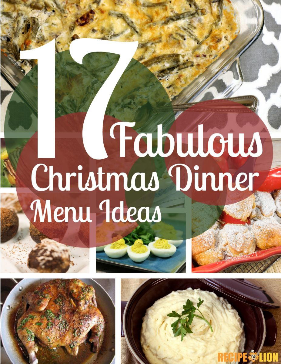 Christmas Dinner Party Menu Ideas  17 Fabulous Christmas Dinner Menu Ideas Free eCookbook