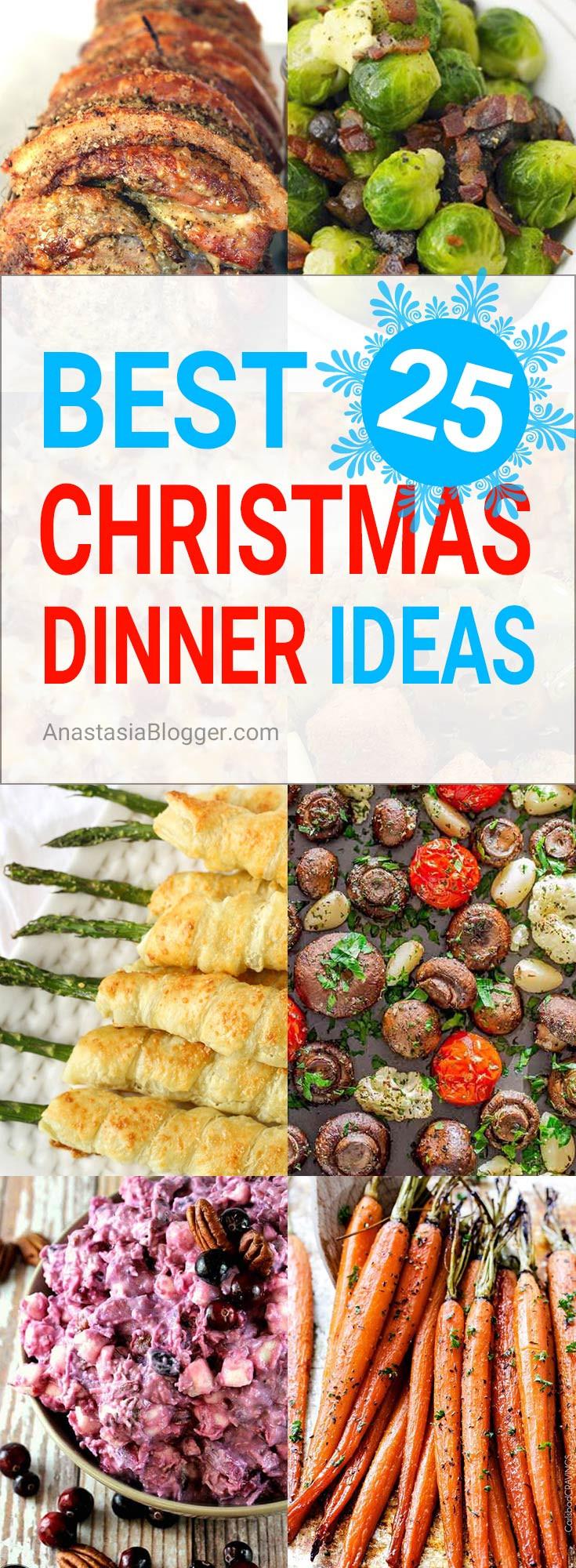 Christmas Dinner Party Menu Ideas  Best 25 Christmas Dinner Ideas Traditional Italian