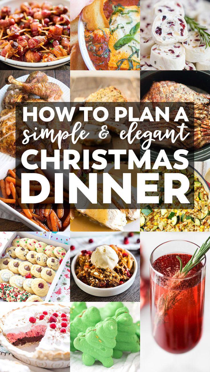 Christmas Dinner Party Menu Ideas  Best 25 Elegant dinner party ideas on Pinterest