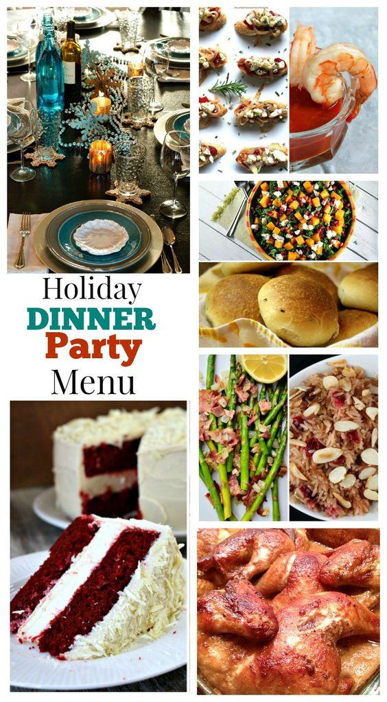 Christmas Dinner Party Menu Ideas  Pinterest • The world's catalog of ideas