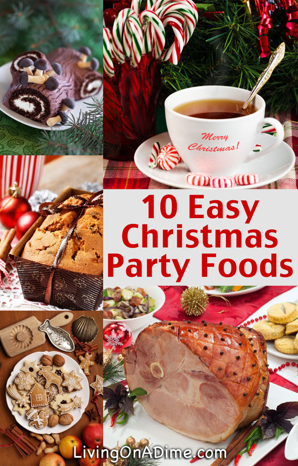 Christmas Dinner Party Menu Ideas  10 Easy Christmas Party Food Ideas And Easy Recipes
