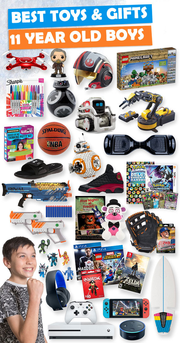 Christmas Gift Ideas For 11 Year Old Boy  Gifts For 11 Year Old Boys 2018