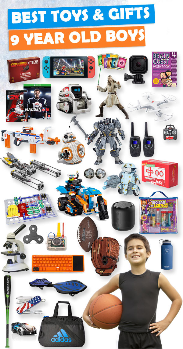 Christmas Gift Ideas For 11 Year Old Boy  Best Toys and Gifts for 9 Year Old Boys 2019
