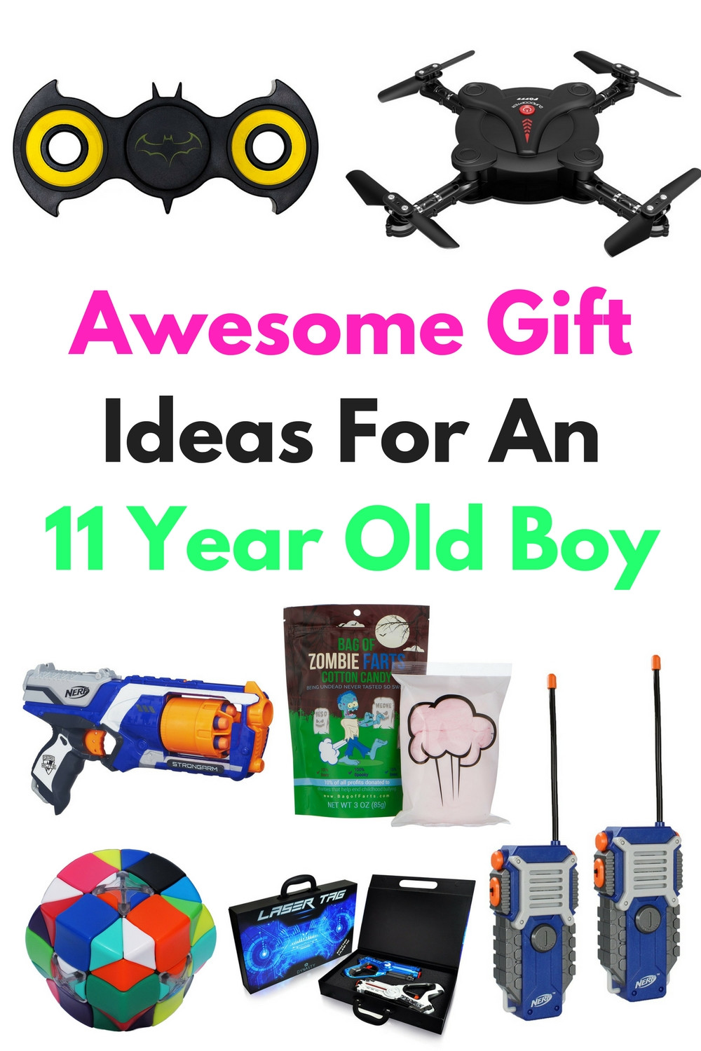 Christmas Gift Ideas For 11 Year Old Boy  Awesome Gift Ideas For An 11 Year Old Boy