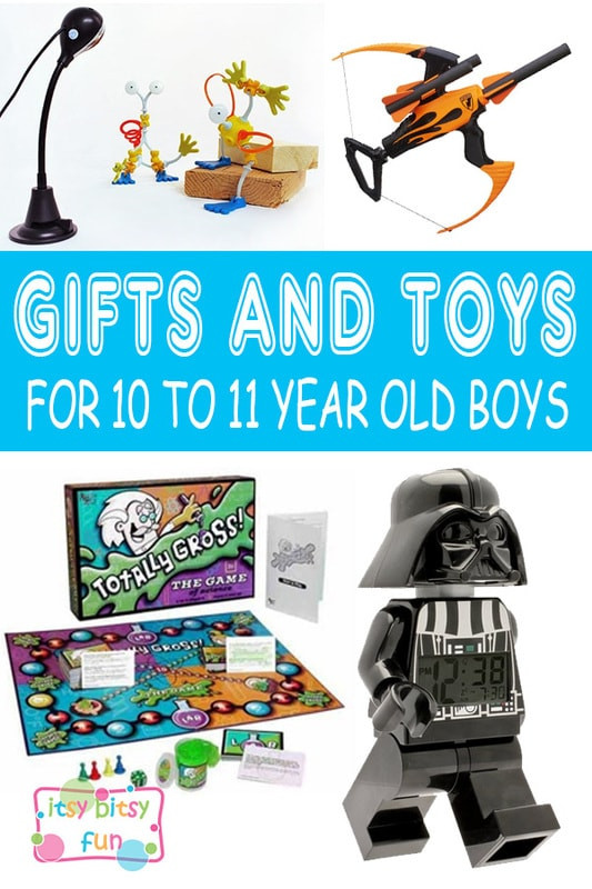 Christmas Gift Ideas For 11 Year Old Boy  Best Gifts for 10 Year Old Boys in 2017 Itsy Bitsy Fun