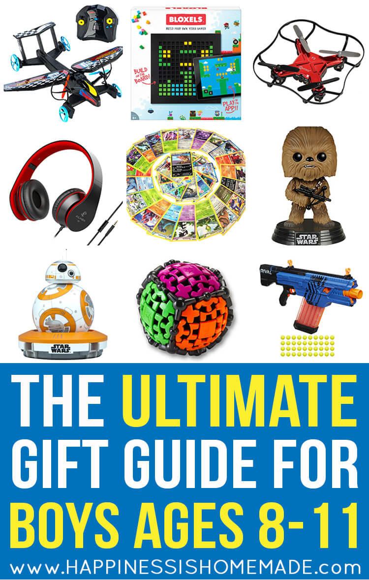 Christmas Gift Ideas For 11 Year Old Boy  The Best Gift Ideas for Boys Ages 8 11 Happiness is Homemade