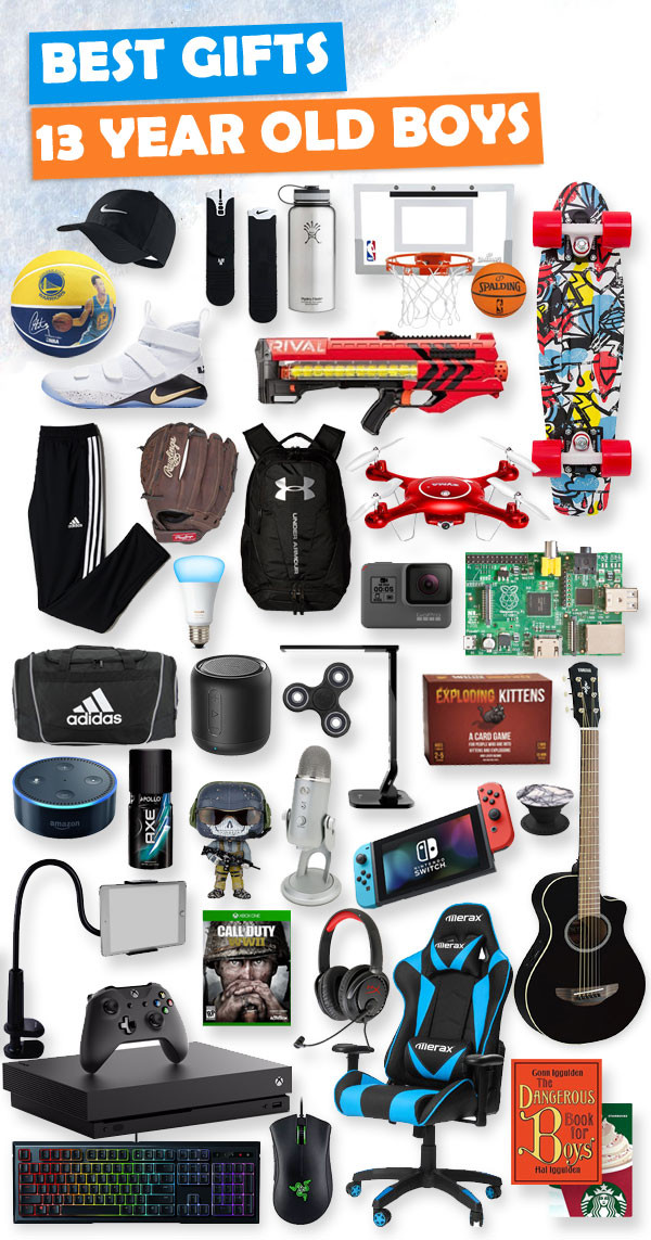 Christmas Gift Ideas For 11 Year Old Boy  Top Gifts for 13 Year Old Boys