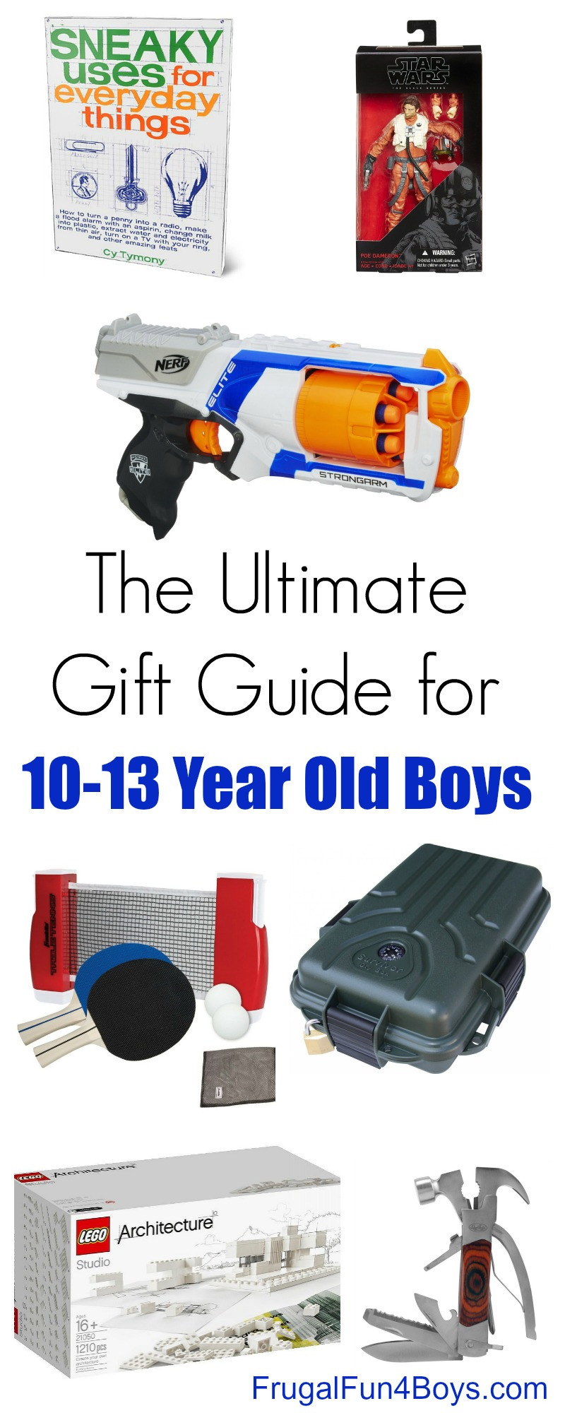 Christmas Gift Ideas For 11 Year Old Boy  Gift Ideas for 10 to 13 Year Old Boys