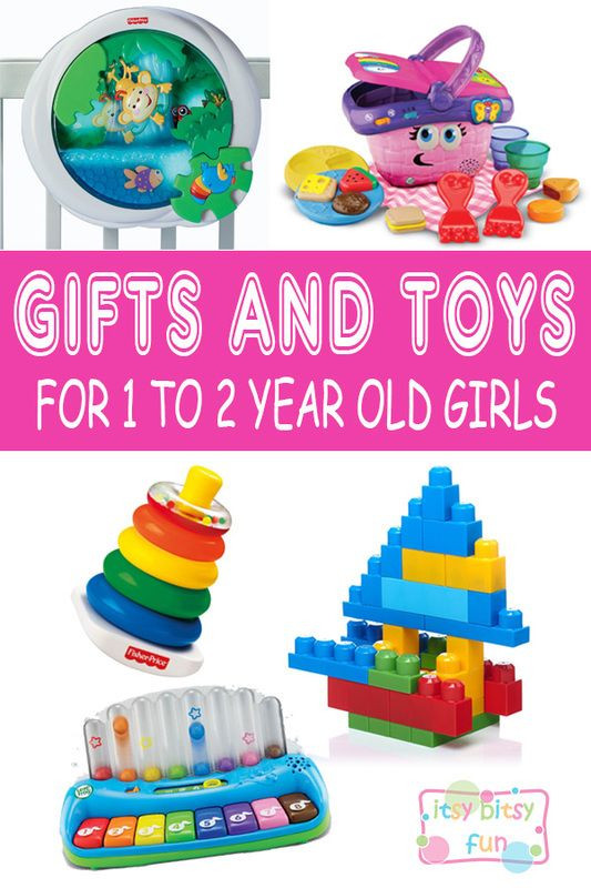 Christmas Gift Ideas For 2 Year Old Baby Girl  25 best Gift ideas for 1 year old girl on Pinterest