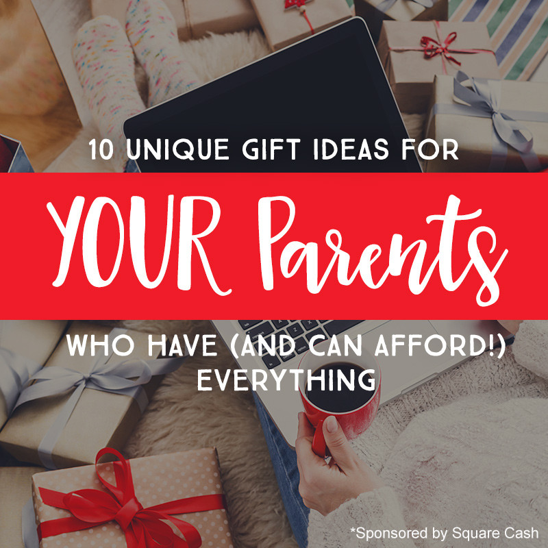 Christmas Gift Ideas For Boyfriends Parents  10 Unique Gift Ideas for YOUR Parents Who Have And Can