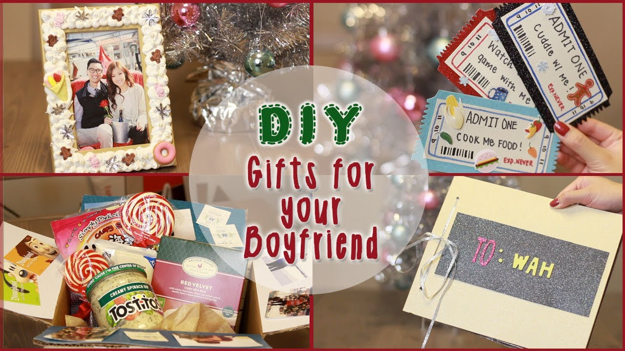 Christmas Gift Ideas For Boyfriends Parents  DIY 5 Christmas Gift Ideas for Your Boyfriend