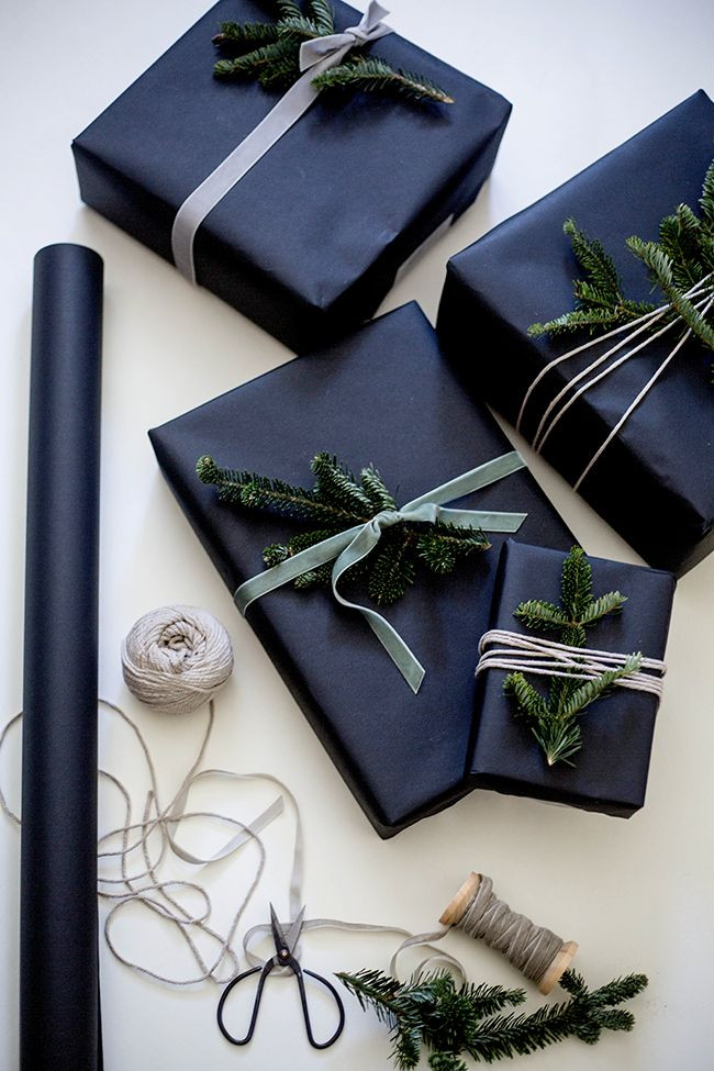 Christmas Gift Wrapping Ideas Elegant  Best 20 Elegant Gift Wrapping ideas on Pinterest