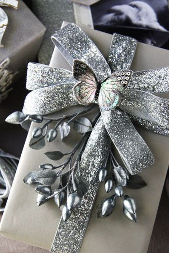 Christmas Gift Wrapping Ideas Elegant  The 50 Most Gorgeous Christmas Gift Wrapping Ideas Ever