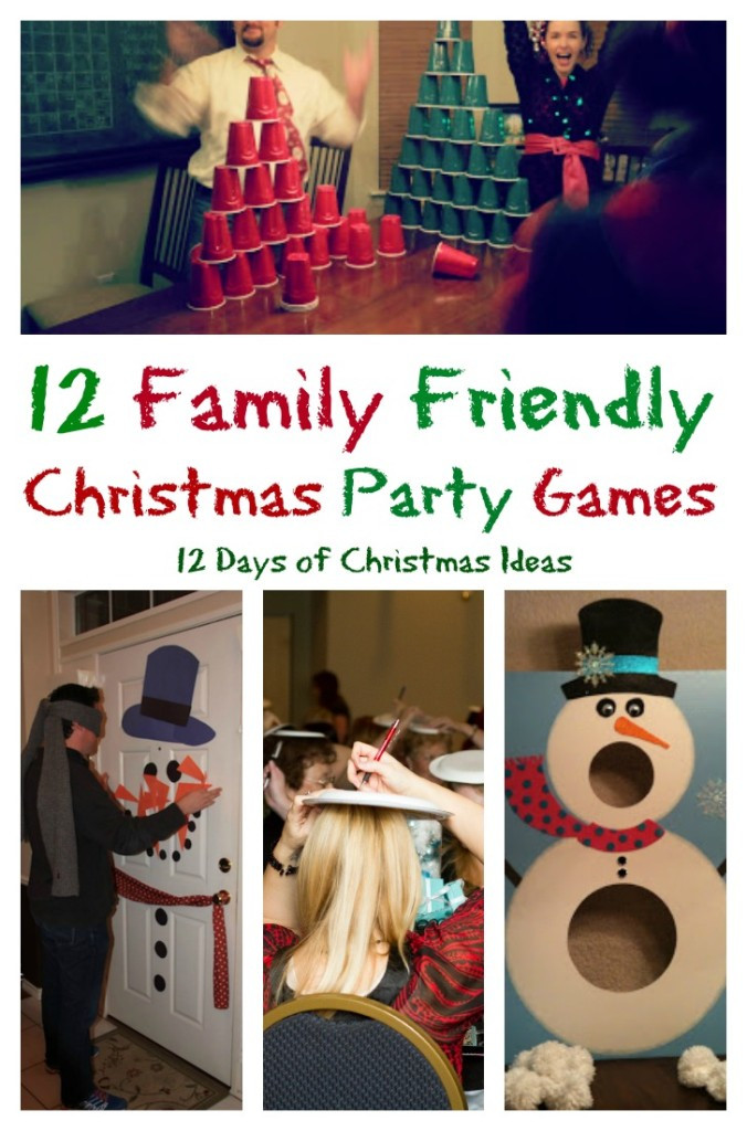 Christmas Party Activity Ideas  12 Days of Christmas 12 Family Friendly Party Games – My
