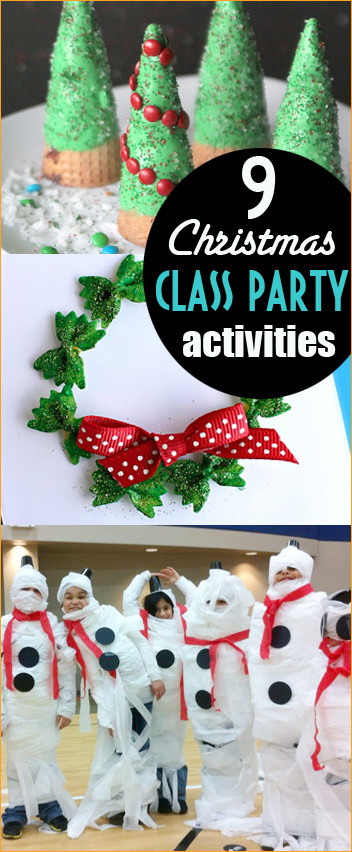 Christmas Party Activity Ideas  Christmas Class Party Ideas Page 7 of 10 Paige s Party