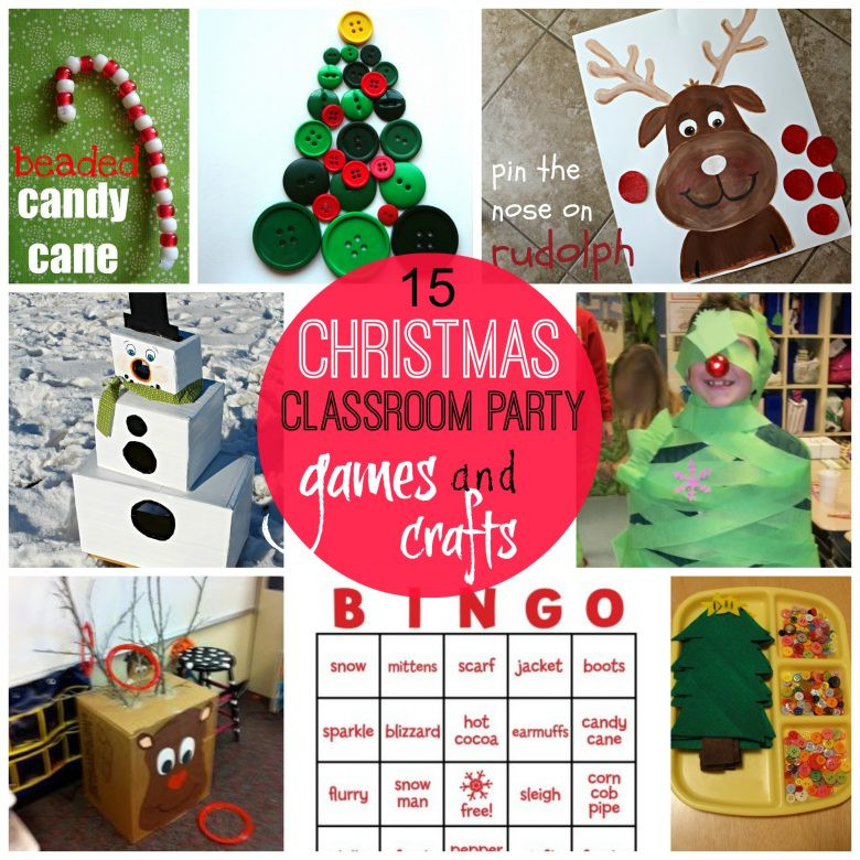 Christmas Party Activity Ideas  games for christmas classroom parties A girl and a glue gun
