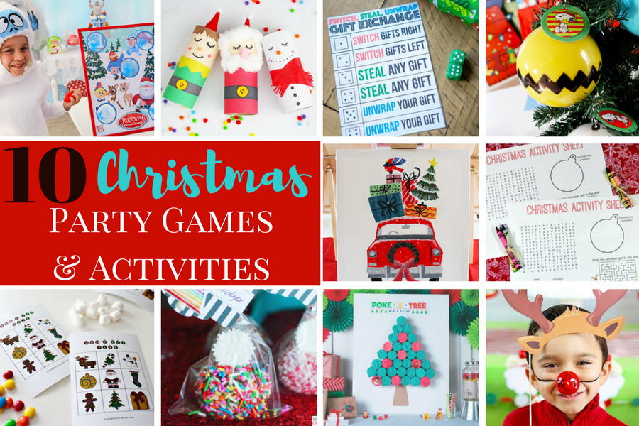 Christmas Party Activity Ideas  10 Christmas Party Games and Activities Michelle s Party