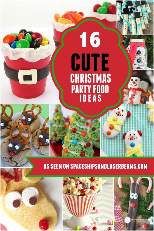 Christmas Party Activity Ideas  16 Cute Christmas Party Food Ideas Kids Will Love