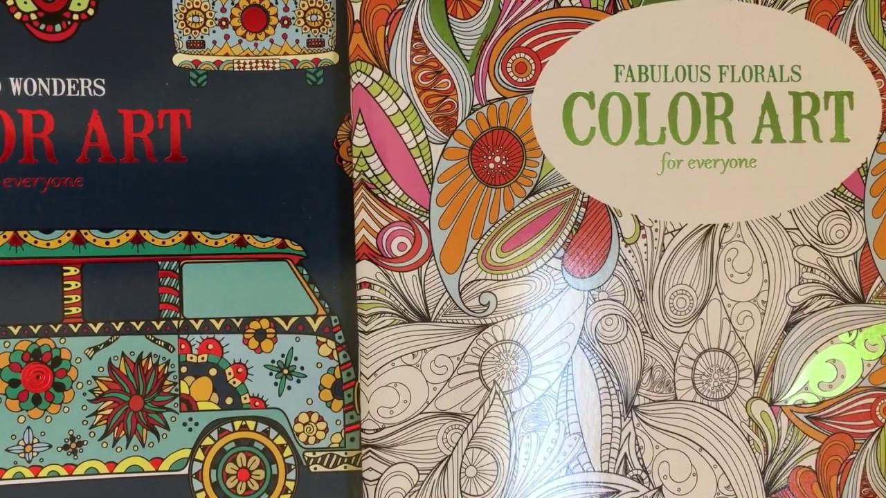 Coloring Books Walmart  4 Packs of Adult Coloring Books $9 97 at Walmart