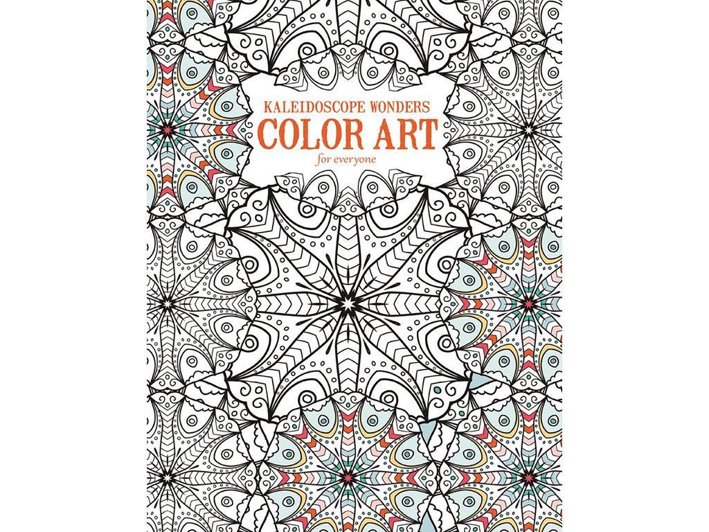 Coloring Books Walmart  Kaleidoscope Wonders Color Art for Everyone Coloring Book