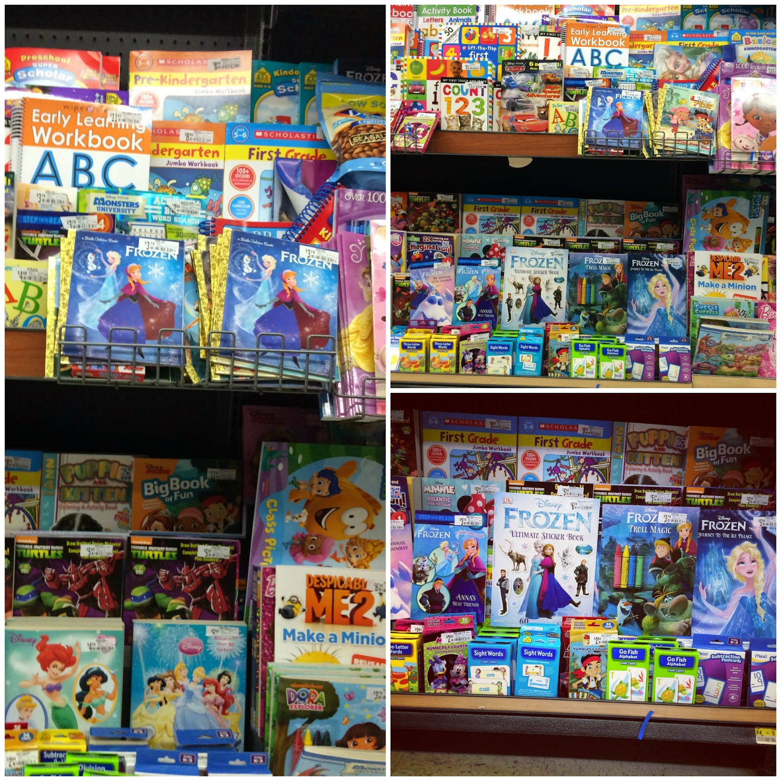 Coloring Books Walmart  Disney Bound with FROZEN Fun Activities