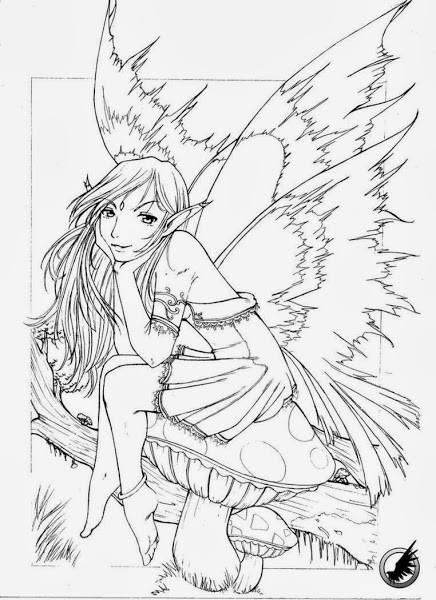 Coloring Pages For Adults Difficult Fairies  Difficult Adult Coloring Pages Printable – Colorings