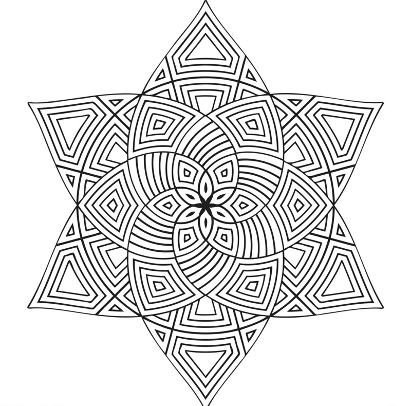 Coloring Pages For Boys Calm  40 hübsche Mandala Vorlagen zum Ausdrucken und Ausmalen