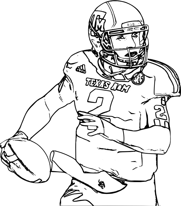 Coloring Pages For Boys Football Players  30 Football Coloring Pages ColoringStar