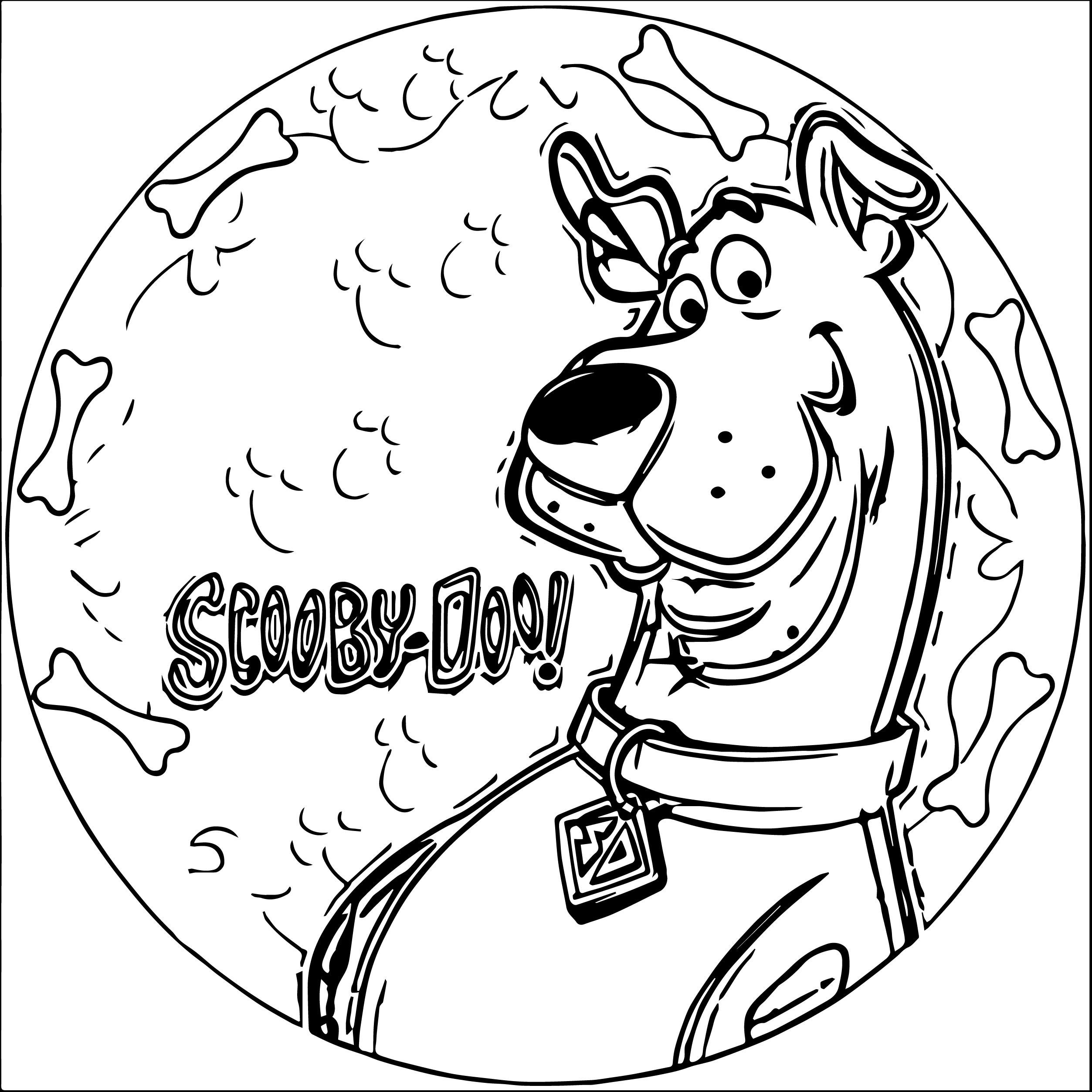 Coloring Pages For Boys Scooby Doo  Scooby Doo Coloring Pages Coloring