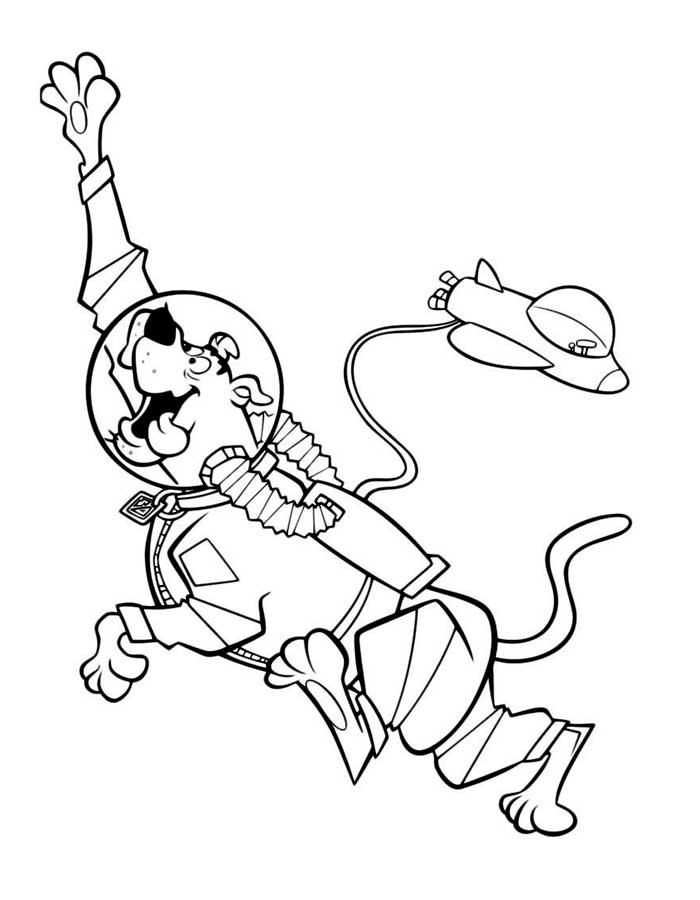 Coloring Pages For Boys Scooby Doo  Scooby Doo coloring pages