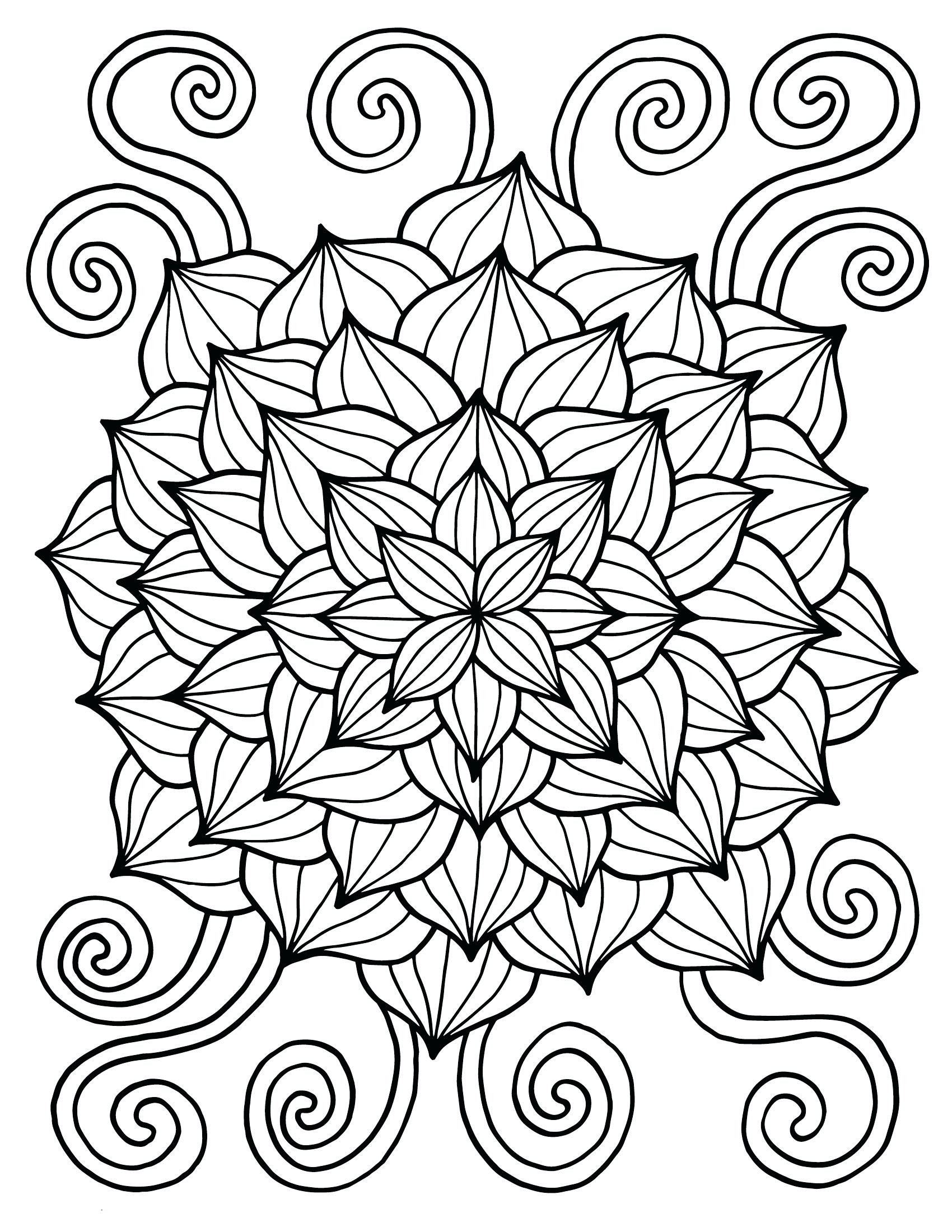 Coloring Pages Of Flowers For Kids  Spring Coloring Pages Best Coloring Pages For Kids