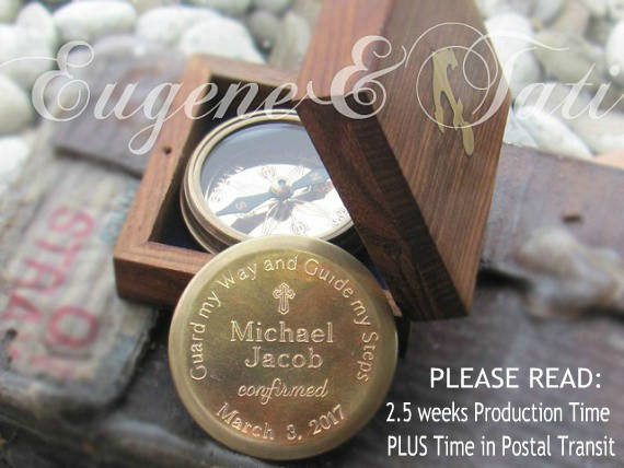 Confirmation Gift Ideas For Boys  Confirmation pass for Boys Boy Confirmation Gifts Working