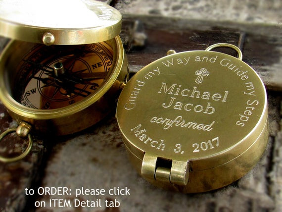 Confirmation Gift Ideas For Boys  Confirmation Gift Boy Catholic Sponsor Gift 1st munion