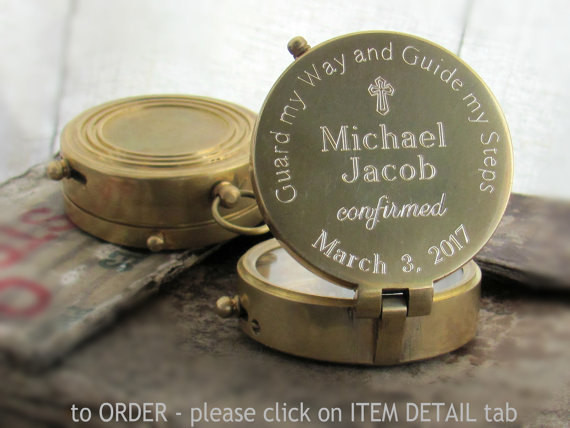 Confirmation Gift Ideas For Boys  Engraved pass Confirmation Gift Confirmation Gift Boy