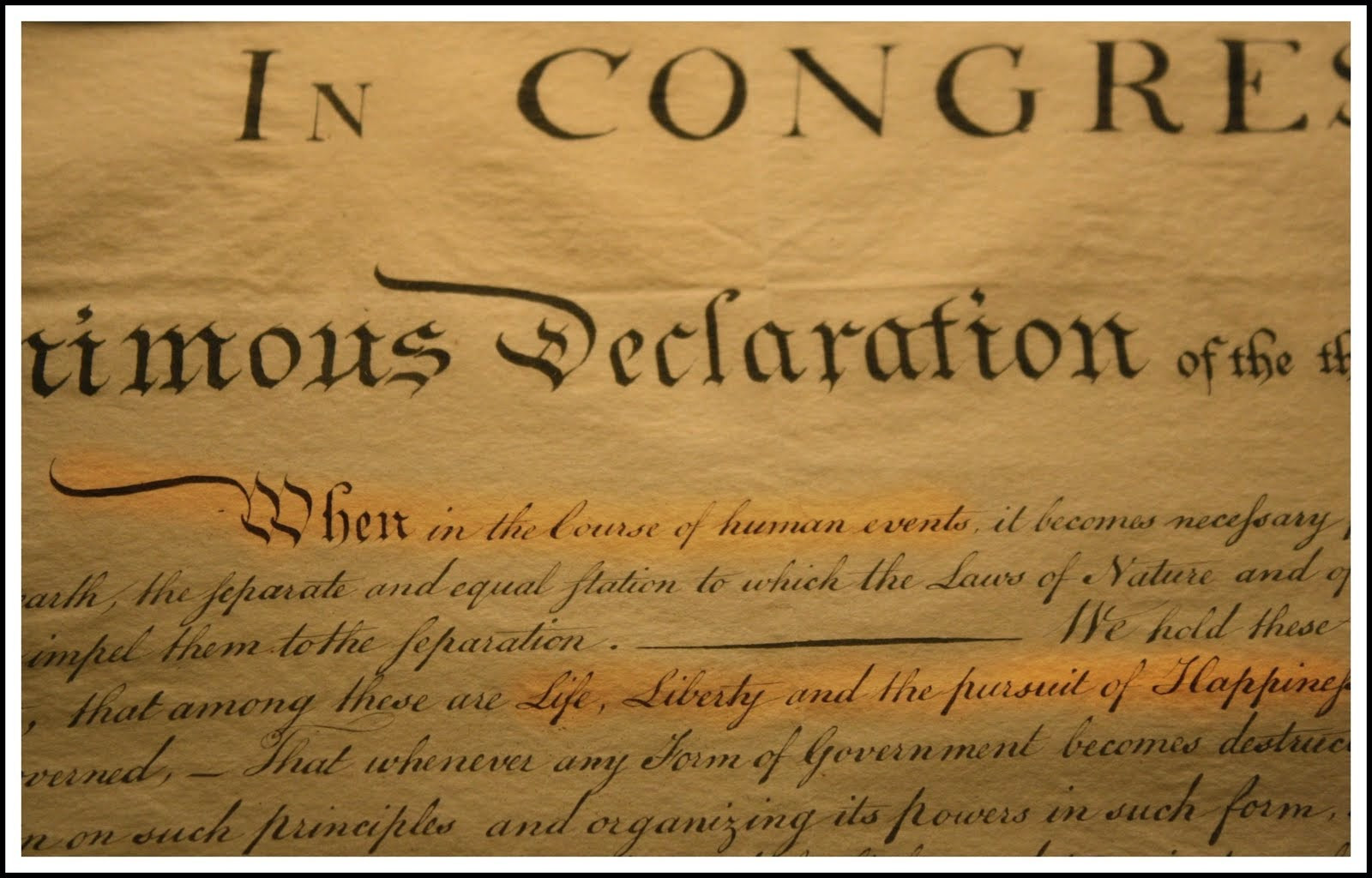 Constitution Life Liberty And Pursuit Of Happiness Quote  A Layman s Blog 4 20 14 4 27 14