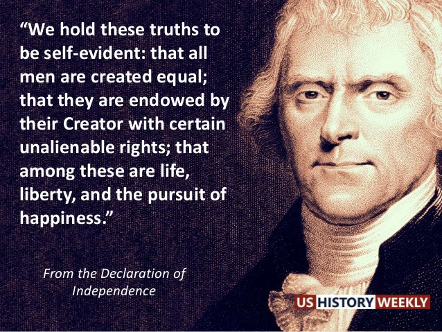Constitution Life Liberty And Pursuit Of Happiness Quote  THE PURSUIT OF HAPPINESS QUOTES THOMAS JEFFERSON image