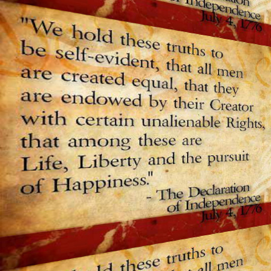 Constitution Life Liberty And Pursuit Of Happiness Quote  MAGIC TIME PORTAL INTERGALACTIC OBSERVER LIFE LIBERTY
