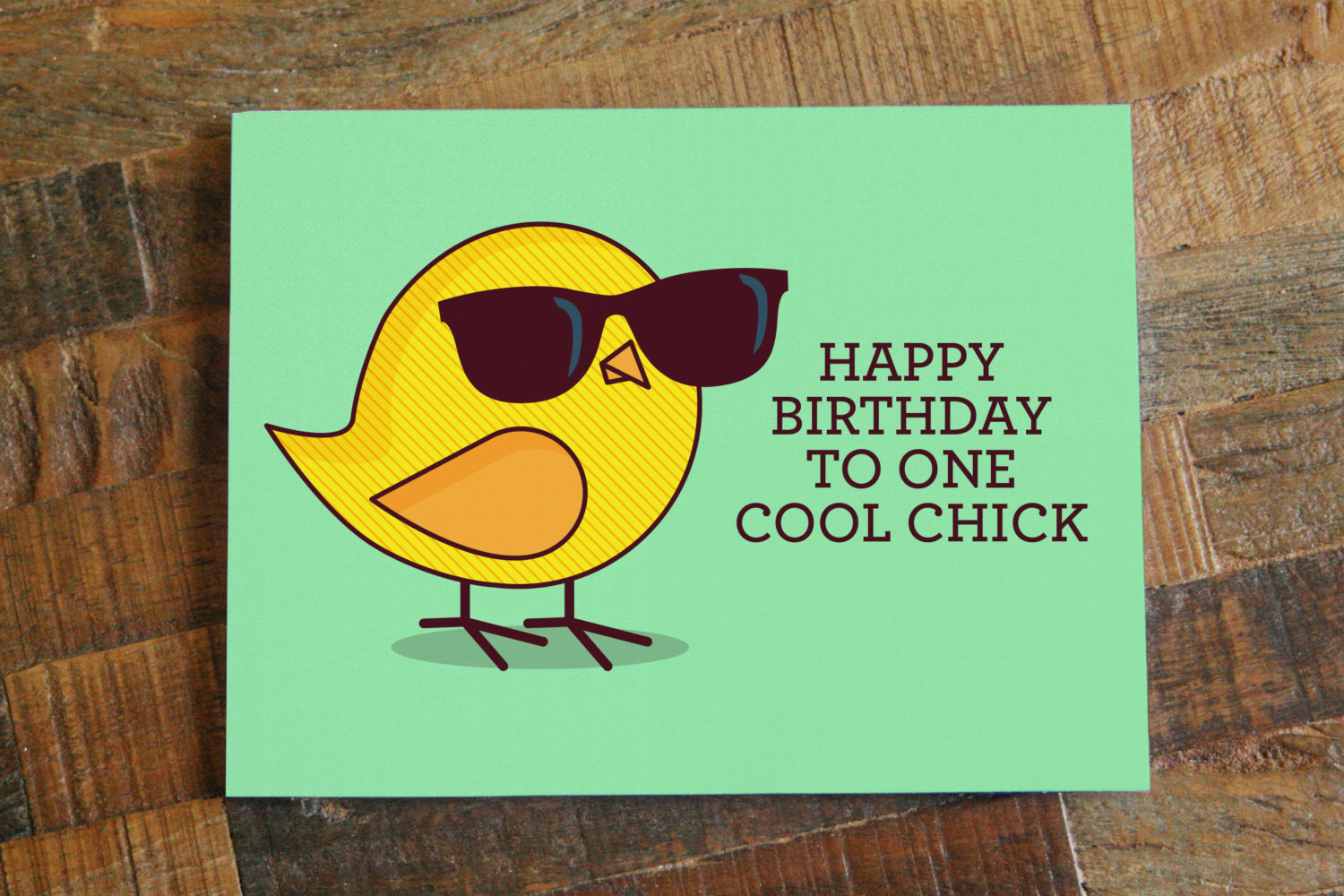 Cool Birthday Card  Funny Birthday Card For Her Happy Birthday to e Cool