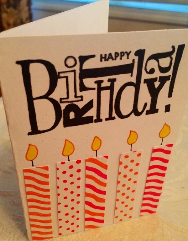 Cool Birthday Card  35 Beautiful Handmade Birthday Card Ideas