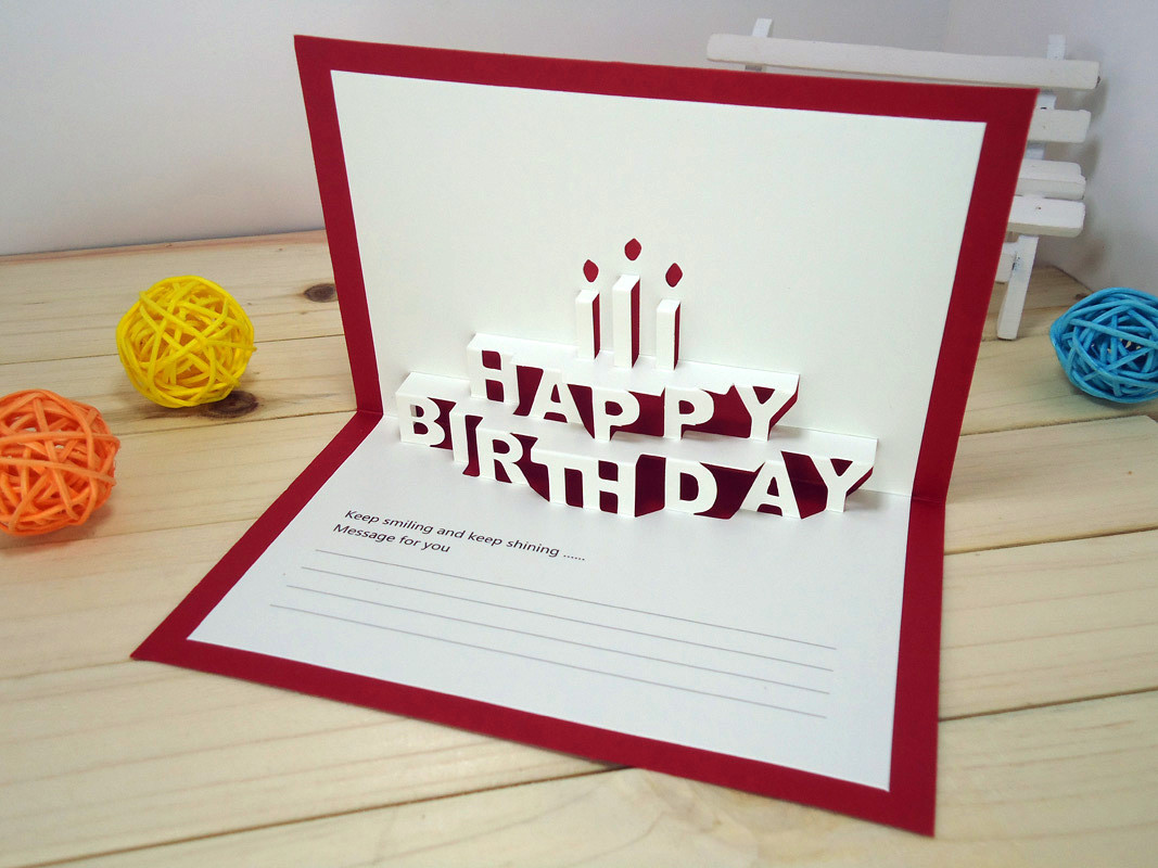 Cool Birthday Card  8 Cool and Amazing Birthday Card Ideas