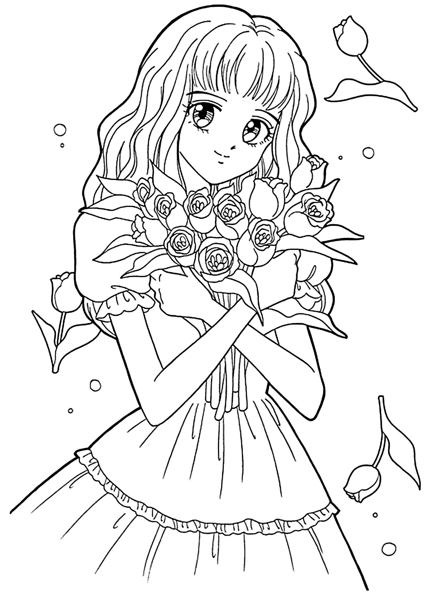 Cool Coloring Sheets Printable For Boys  Anime Christmas Coloring Pages Gallery