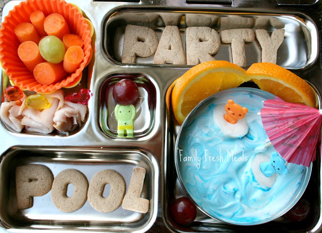 Cool Pool Party Ideas  Bento Love Cool Pool Party Family Fresh Meals