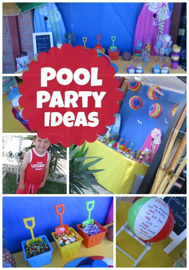 Cool Pool Party Ideas  Celebrate a Summer Birthday with a Pool Party