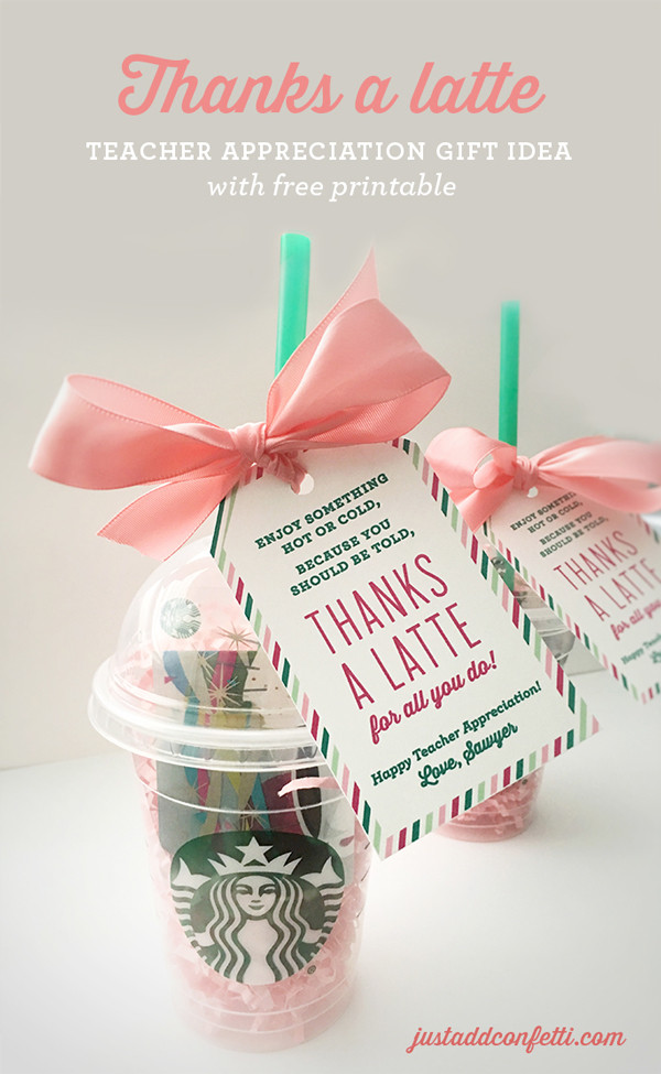 Cool Thank You Gift Ideas  fun ways to give t cards for teacher appreciation It