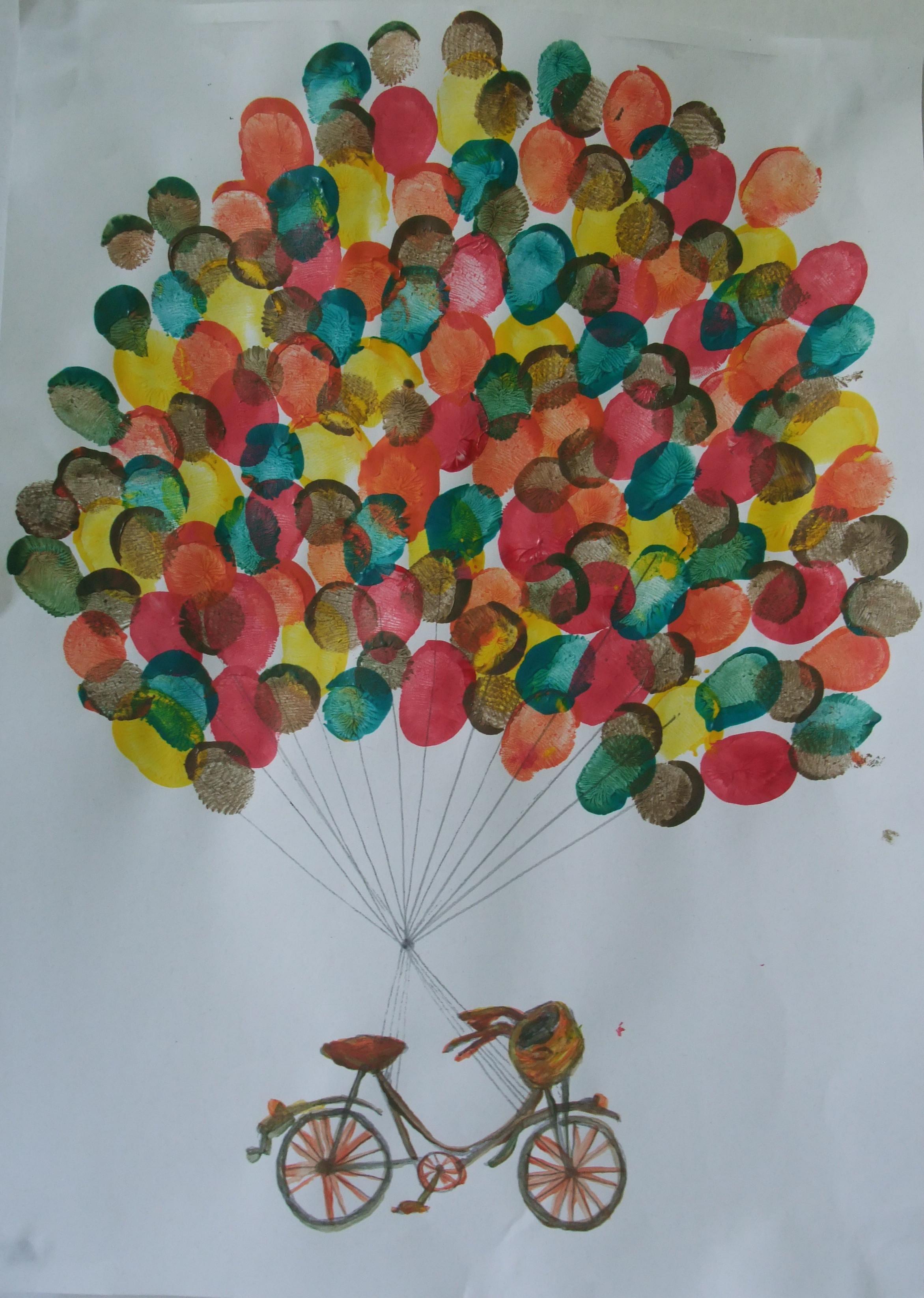 Crafts For Kids  fingerprint kids craft