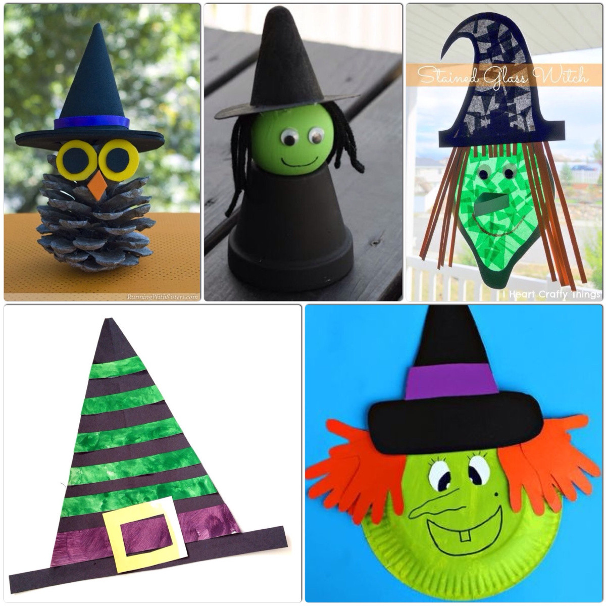 Crafts For Kids  Witch Crafts for Kids – More Halloween Fun